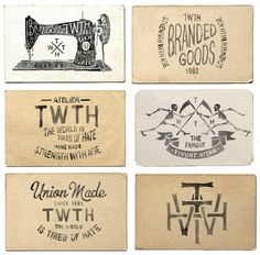 TWTH Atelier on Behance #typography #hand drawn #hand lettering #hand made