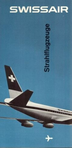 SwissAir Posters #swissair #poster #swiss design