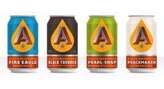 Austin Beerworks | Lovely Package #beer #beerworks #design #austin #can #package