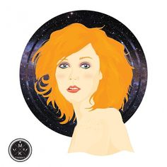Ginger universe by ~alienbiru on deviantART #vector #grl