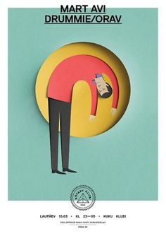 Eiko Ojala » Rotary Klubi #cut #illustration #paper