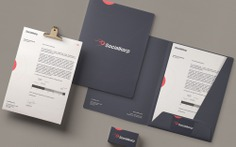 Socialkorp Brand Identity - Mindsparkle Mag New branding by Rafael Maia. Socialkorp is a Portuguese company with the future in its DNA, creating solutions that make sense right now. #packaging #identity #branding #design #color #photography #graphic #design #gallery #blog #project #mindsparkle #mag #beautiful #portfolio #designer