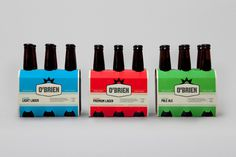 O'Brien #identity #packaging