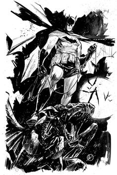 Sketch 339 by MatteoScalera on deviantART #batman