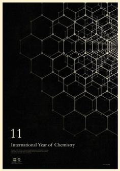 International Year of Chemistry 2011 Posters - Core77 #geometric #poster #chemistry
