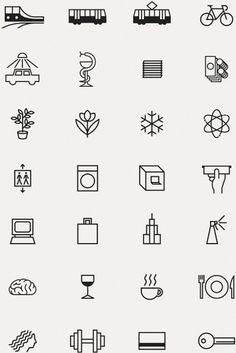 icon system #picto #icons #iconography #pictogram