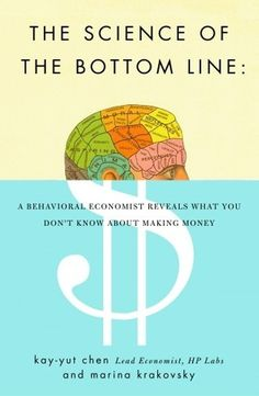 The Book Cover Archive: The Science of the Bottom Line, design by Oliver Munday #cover #editorial #book