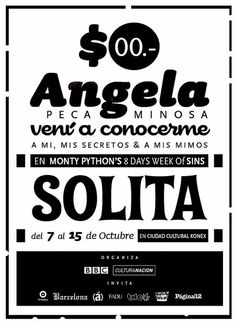 The Monty Python's 8 days week of sins #english #monty #fest #gilliam #sins #terry #python #england