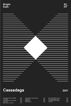 swissritual.ca #swissritual #graphic #design #minimal #music #grid #poster #swiss #illustration #BrightEyes