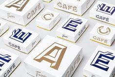 Packaging with bold typographic approach for Helsinki based Fazer Cafe designed by Kokoro & Moi #packaging #based #kokoro #bold #approach #fazer #typographic #cafe #moi #designed #helsinki