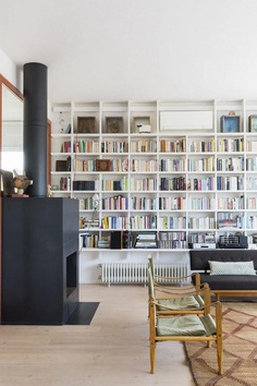Two-Storey Family Apartment in Rome Exhibiting a Powerful Character 4