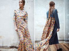 CHRISTINA ECONOMOU | EFFORTLESS AND ECLECTIC | Daily METAL #fashion #florals #prints