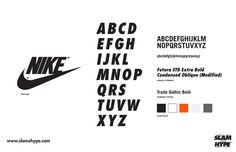 NIKE #nike #font