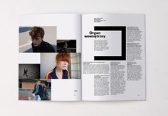 surowy : portfolio #print #layout #magazine