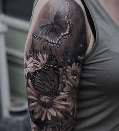 100+ Amazing Butterfly Tattoo Designs | Art and Design
