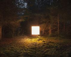Illuminated Landscapes by Benoit Paillé | Colossal #photography