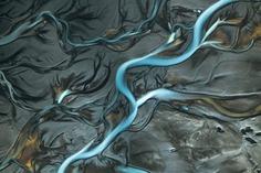 Blue Ribbons by Chris Byrne
