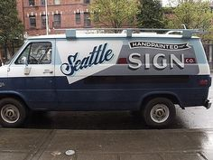FFFFOUND! | Sean Barton's van on the street on Flickr - Photo Sharing! #van #car #typography