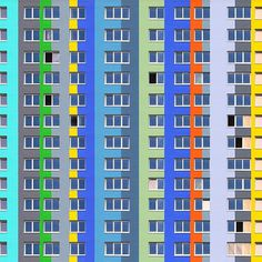 #Colorful #Architecture Photography by Ramin Nasibov