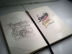 Benjamin Bethurum on the Behance Network #calligraphy #typography