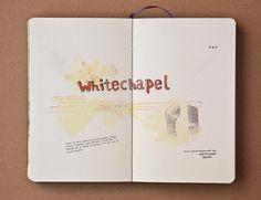 pazmartinezcapuz.com #handwriting #london #collage #guide