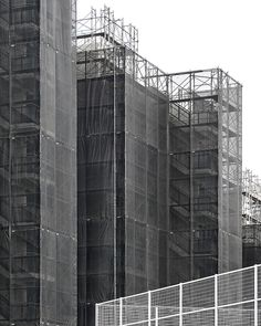 Untitled B #scaffolding #black