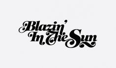various type treatments on the Behance Network