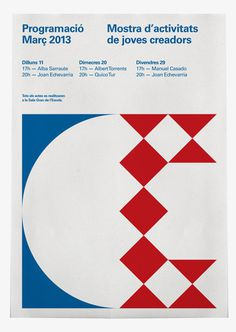 Poster #design #graphic #geometric #grid #poster #typography