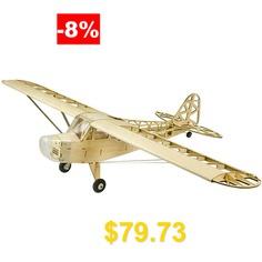 Pipe #J3 #Cub #1.2M #1200mm #Wingspan #Balsa #Wood #Laser #Cut #RC #Airplane #- #BURLYWOOD