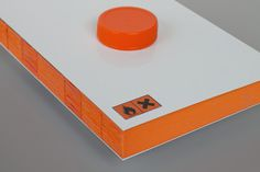 Me arrepiento del mañana on Behance #binding #bottle #packaging #orange #book #corrosive #toxic #editorial
