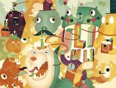Illustration Portfolio of Sami Viljanto #illustration