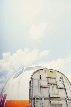 Photo Project 01 | down in smyrna on the Behance Network #racepony #down #sky #in #plane #vintage #smyrna