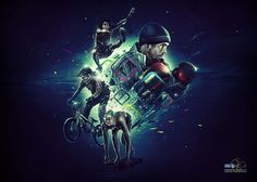 Digital Art inspiration #digital #illustration #sports #art