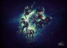 Digital Art inspiration #digital #illustration #sports #art