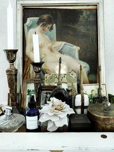 Jonas Ingerstedt photography mantel collection #interior #design #decor #deco #decoration