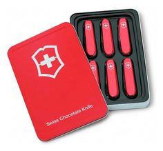Swiss Army Knife Chocolate