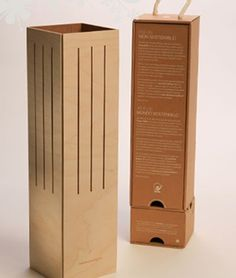 Separate wooden structure #packaging