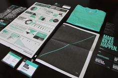 99% Conference Materials 2011 on the Behance Network #branding #design #graphic #brand #logo