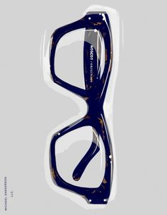 MICHAEL SANDERSON™: ILLUSTRATION #fashion #glasses #illustration #men