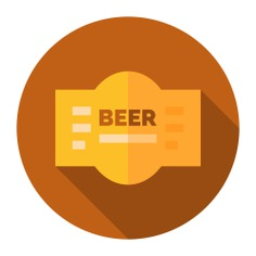 See more icon inspiration related to label, beer, food and restaurant, alcohol, toast, bar, bottle and food on Flaticon.