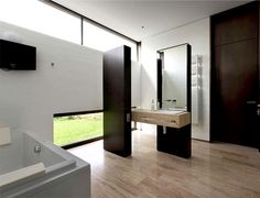 Ark House by Drozdov & Partners - #decor, #interior, #homedecor, #house, #home, #bath