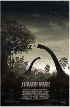 JURASSIC-PARK-JC-Richard.jpeg (Image JPEG, 789x1200 pixels) #rex #brachiosaurus #tyranosaurus #park #jurassic #grant #poster #dinosaur #fake