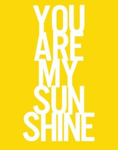 ...sunshine
