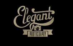 Dribbble - elegantphotography.jpg by Neil Tasker #type #photography #logo #hand #typography