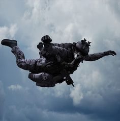 Have a Nice Day #sky #falling #military #parachute #style
