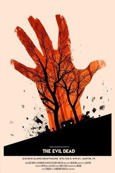 Olly Moss — The Evil Dead