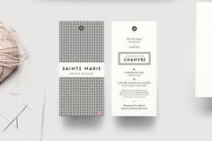Sainte Marie on Behance #type #pattern