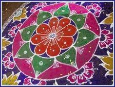 Beautiful rangoli designs for diwali