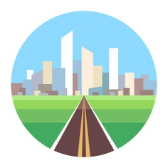 See more icon inspiration related to town, urban, city, architecture, buildings, cityscape and skyscrapers on Flaticon.