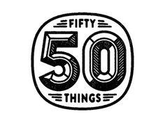 Dribbble - 50 Things. by Tim Boelaars #logo